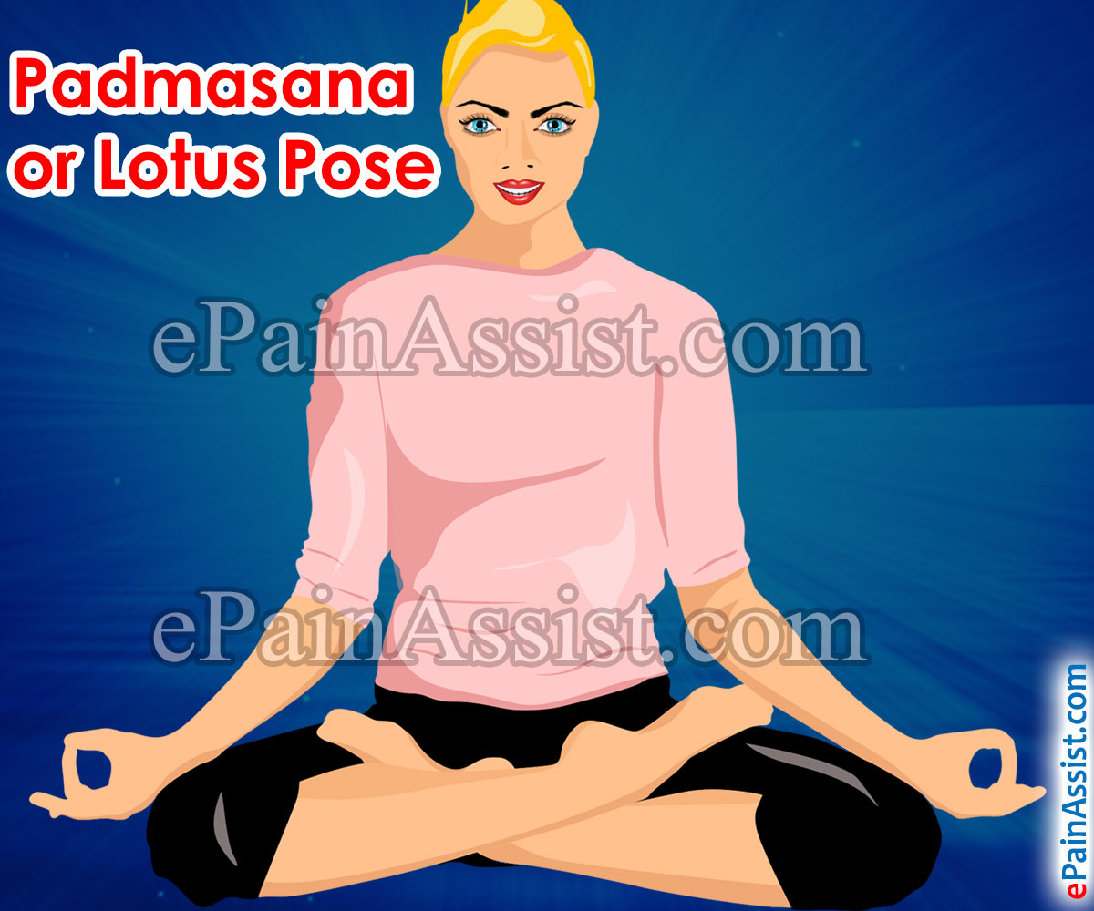Padmasana or Lotus Pose