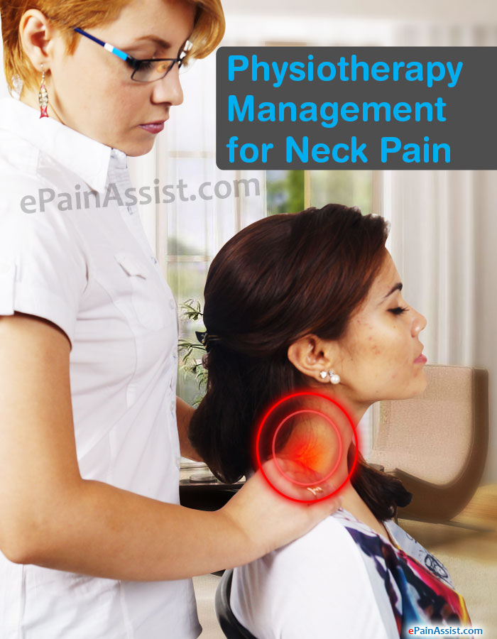 Physiotherapy Management for Neck Pain