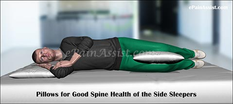 Different Types Of Pillow For Good Spine Health