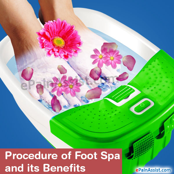 Foot Spa and its Benefits