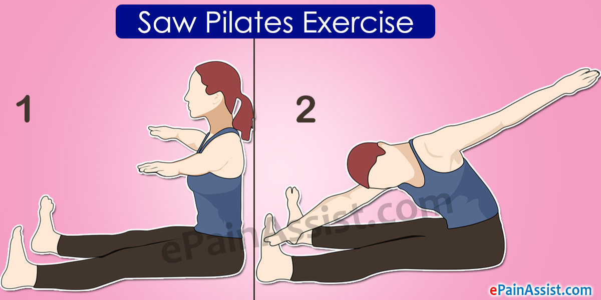 Saw Pilates Exercise