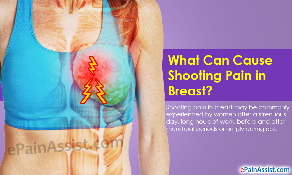 Stress related breast pain