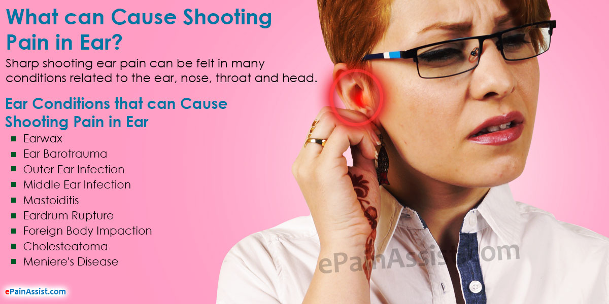 What Can Cause Shooting Pain In Ear