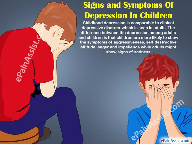 Signs of Depression in Children