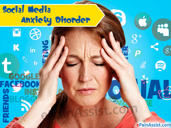 Social Media Anxiety Disorder