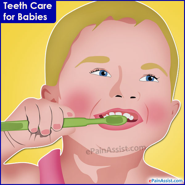 Teeth Care for Babies