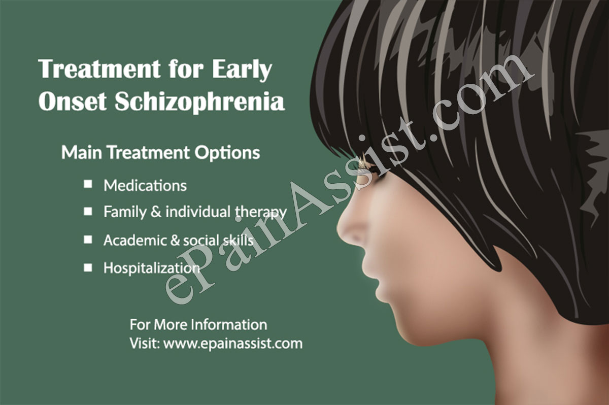 Treatment for Early Onset Schizophrenia