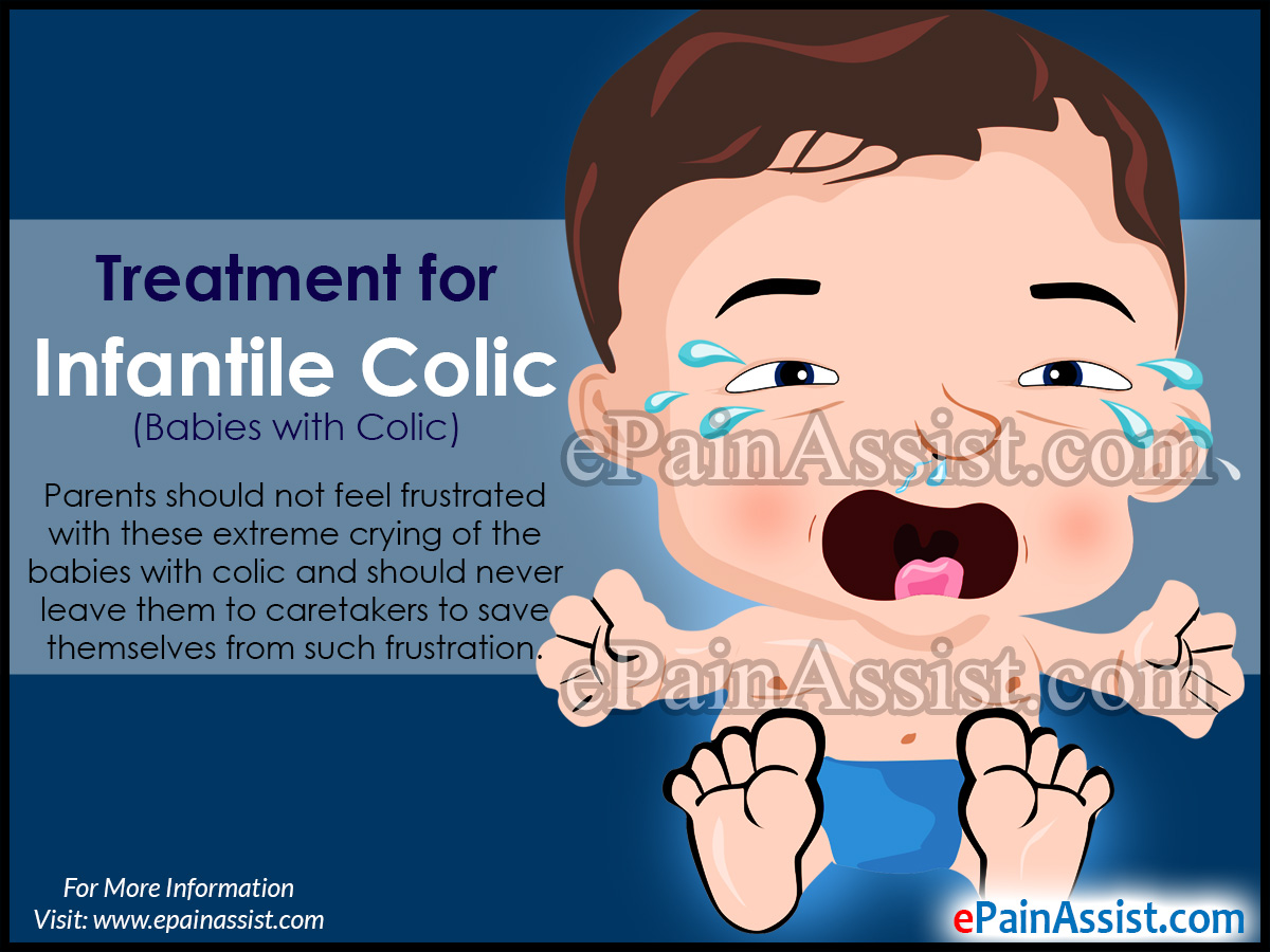 Guidelines Of Treatment For Infantile Colic Babies With