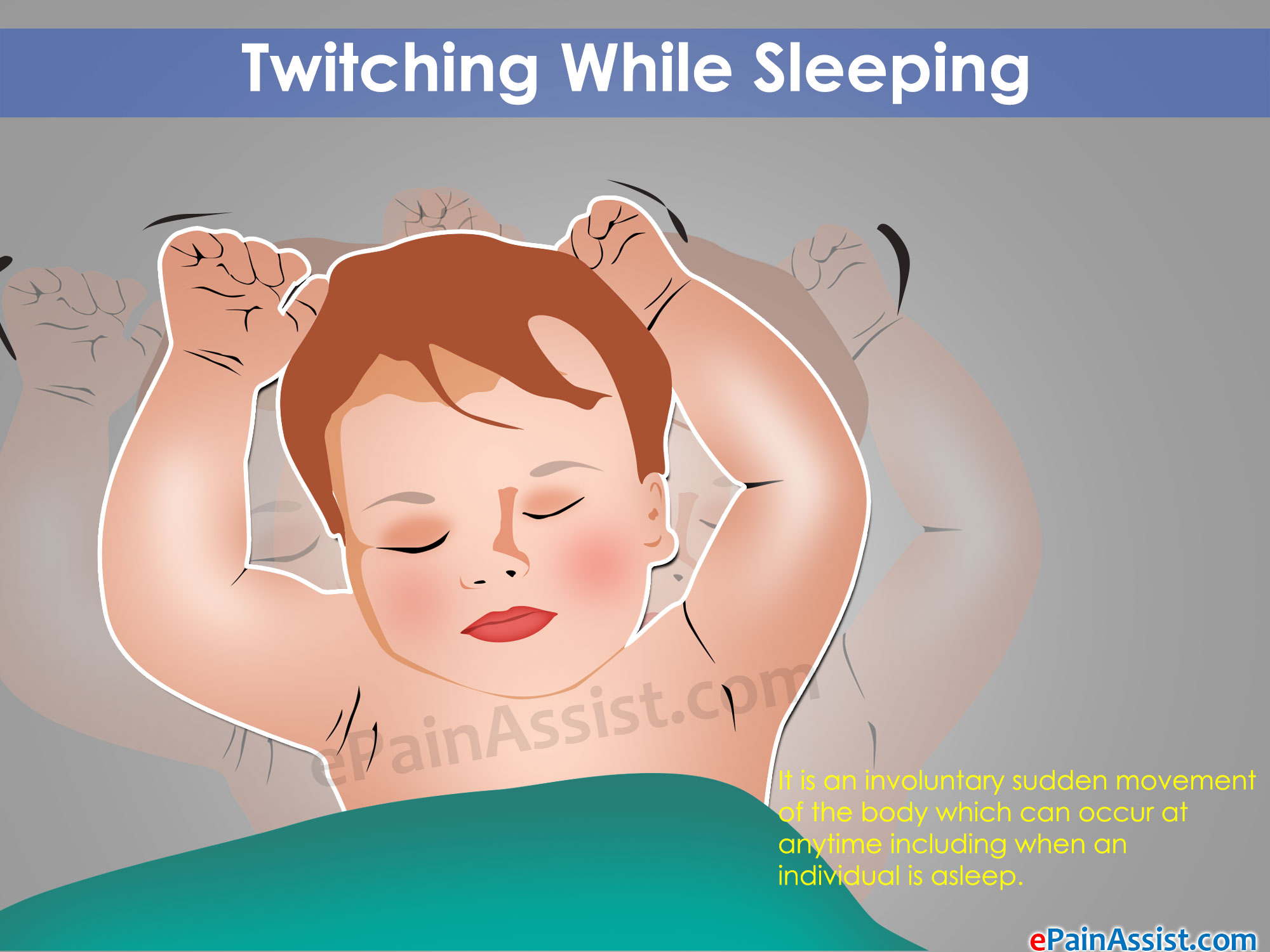 Why does a person twitch when he falls asleep: illness or norm 49