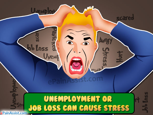 Unemployment or Job Loss Can Cause Stress