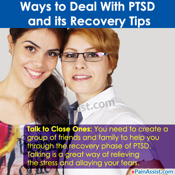 Deal With PTSD and its Recovery Tips