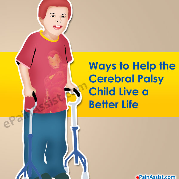 Ways to Help the Cerebral Palsy Child