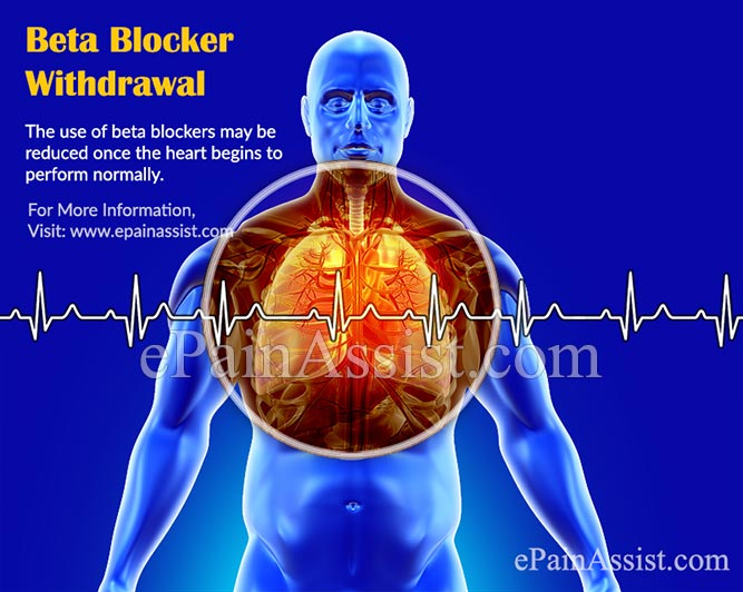 What are the Symptoms & Effects of Beta Blocker Withdrawal?