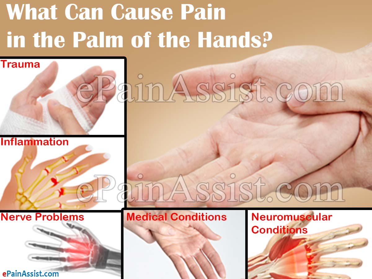 What Can Cause Pain in the Palm of the Hands