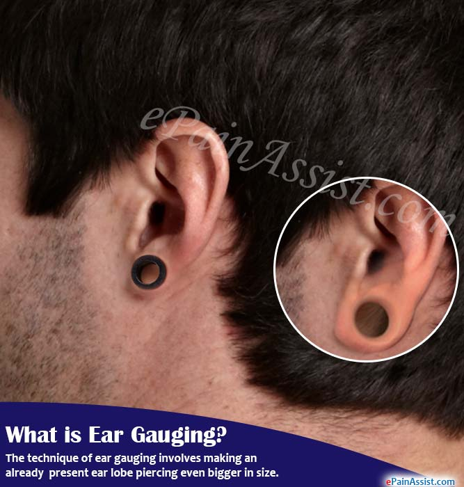 What is Ear Gauging, Know its Side Effects & Ways to ...