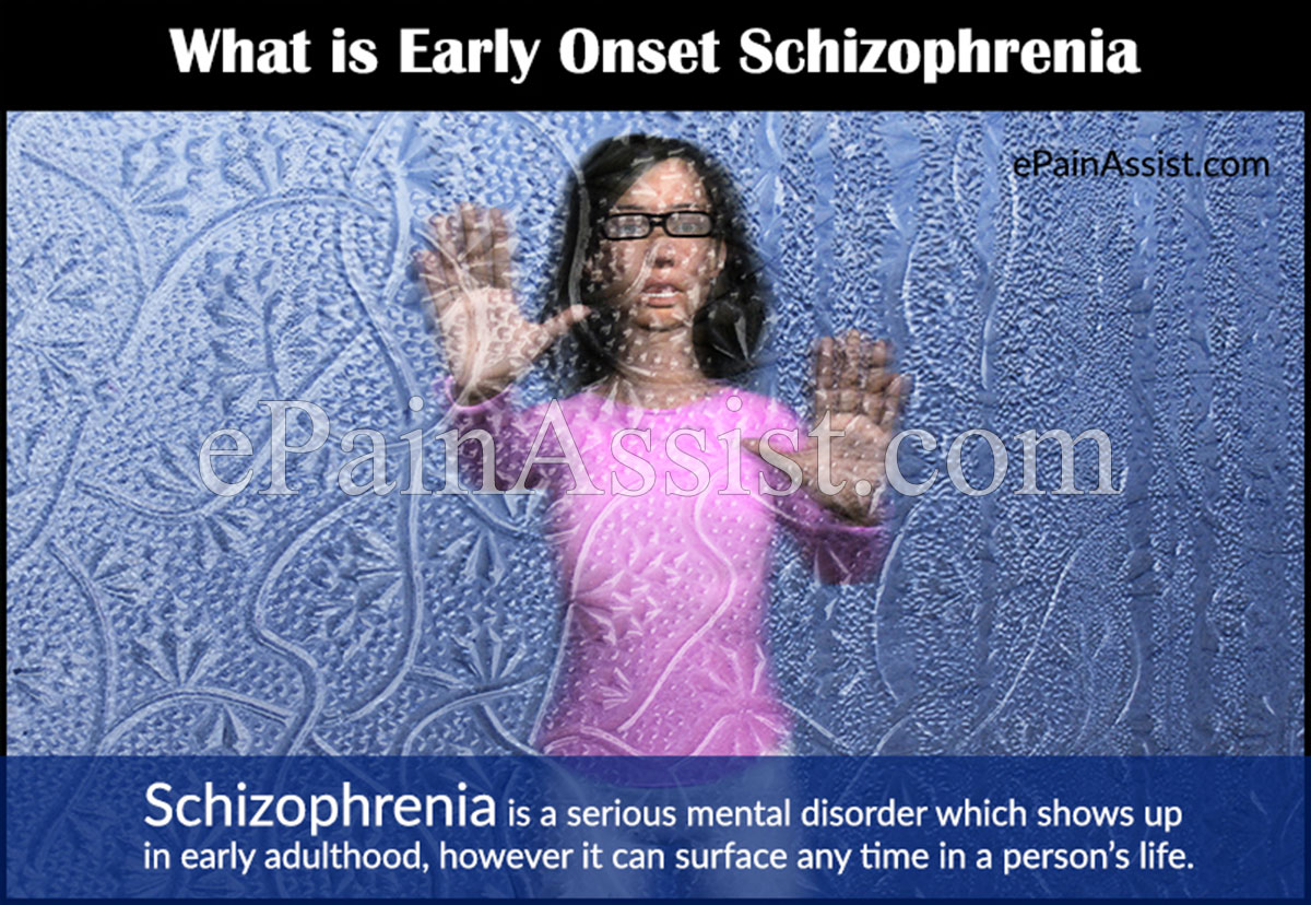Early Onset Schizophrenia