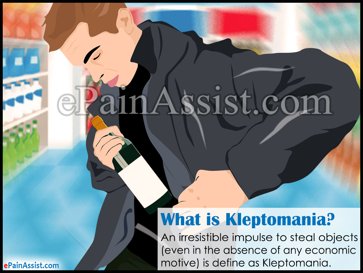 What is Kleptomania