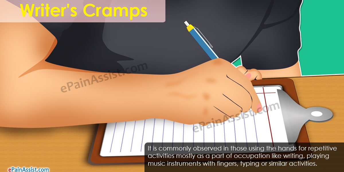 What is Writer's Cramps
