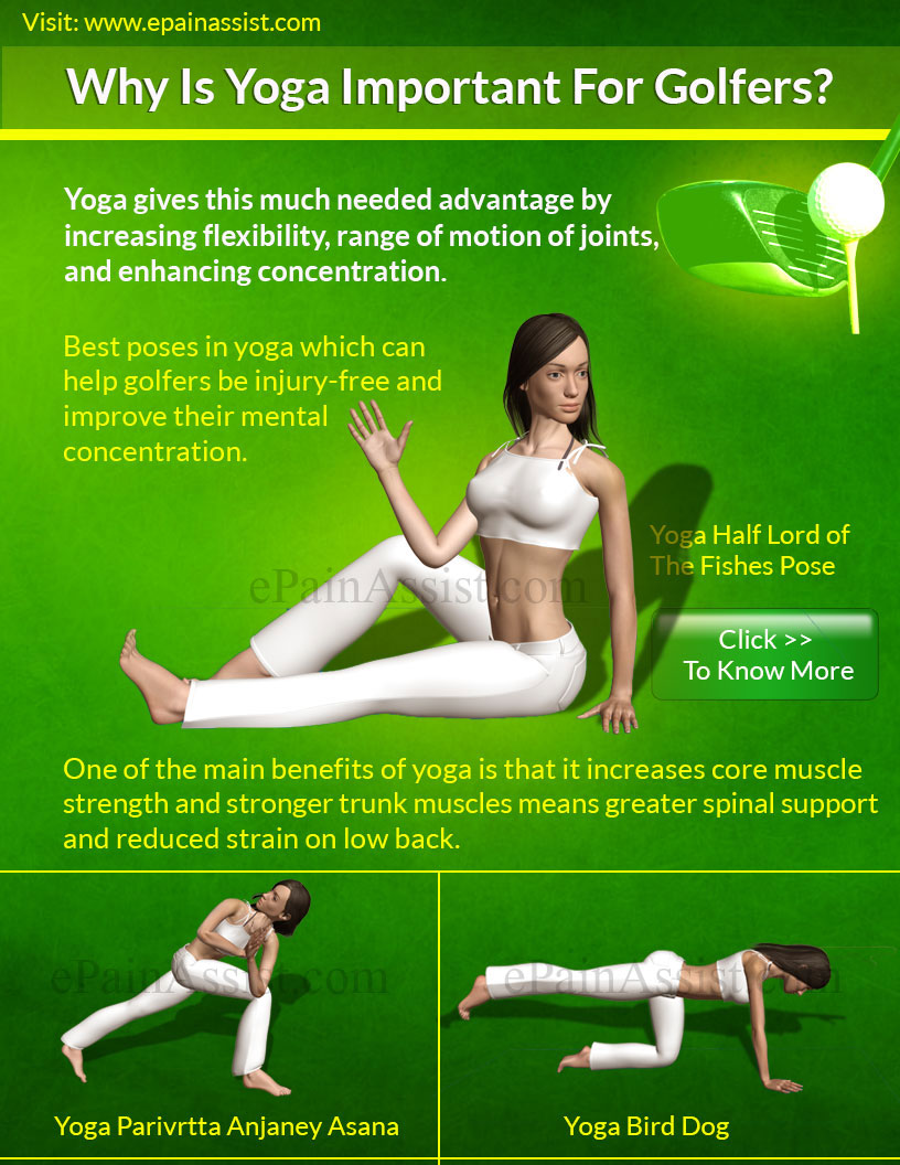3 Best Yoga Poses for Golfers
