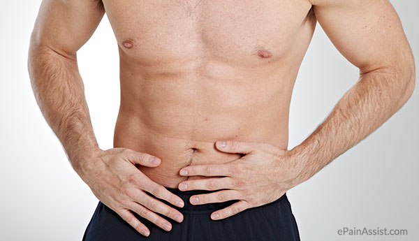 Persistent stomach ache in adults
