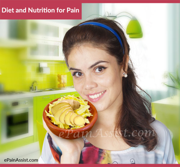 Diet and Nutrition for Pain