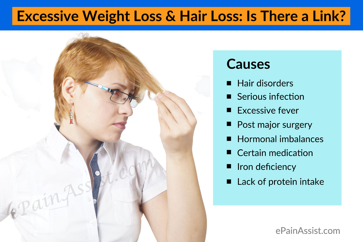Causes of Excessive Weight Loss & Hair Loss