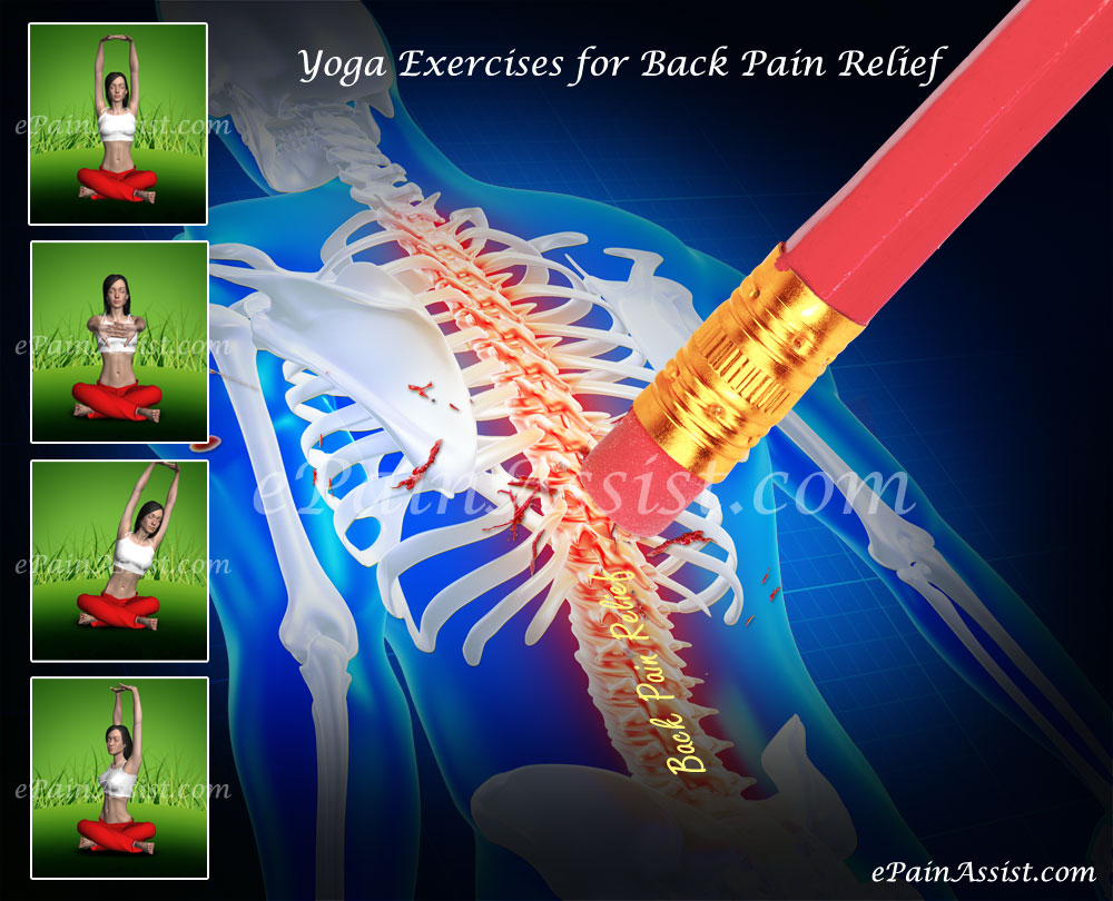 Yoga Exercises for Back Pain Relief