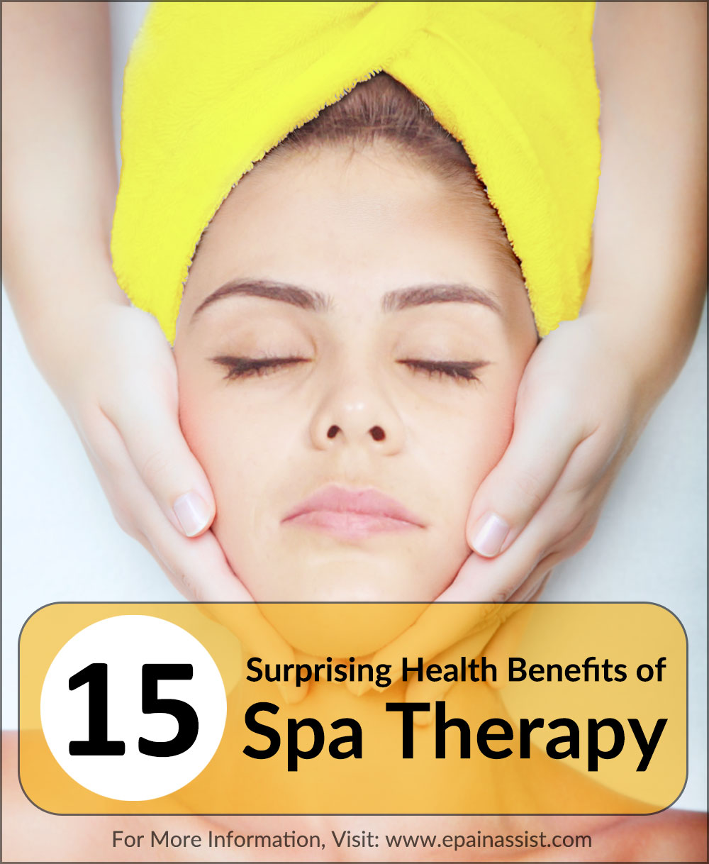 Health Benefits of Spa Therapy