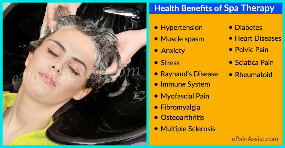 15 Health Benefits of Spa Therapy