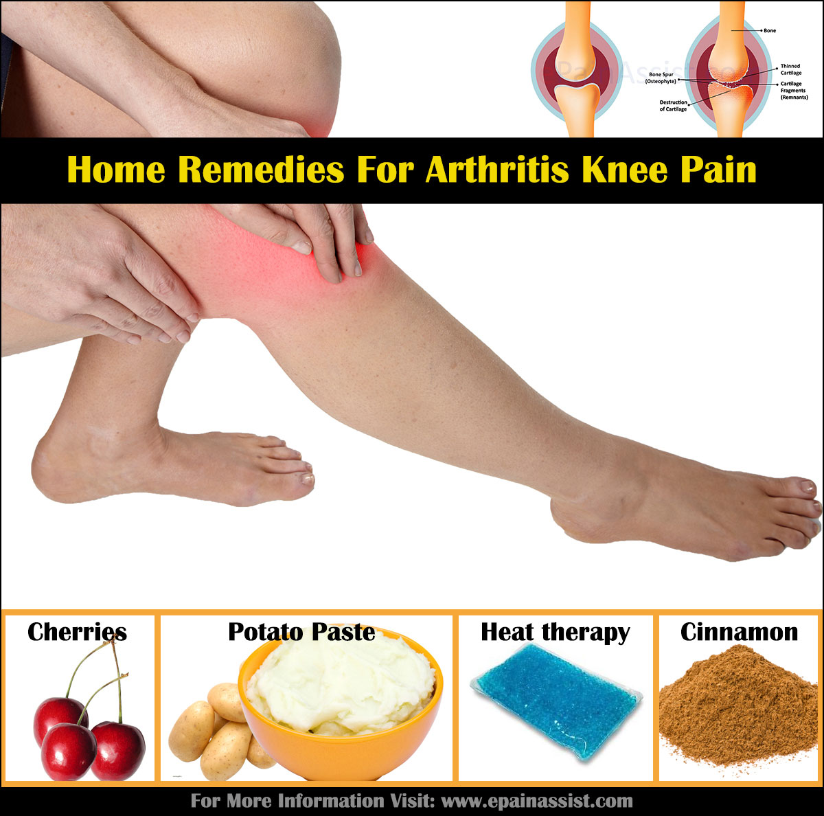 how to clean your knees at home