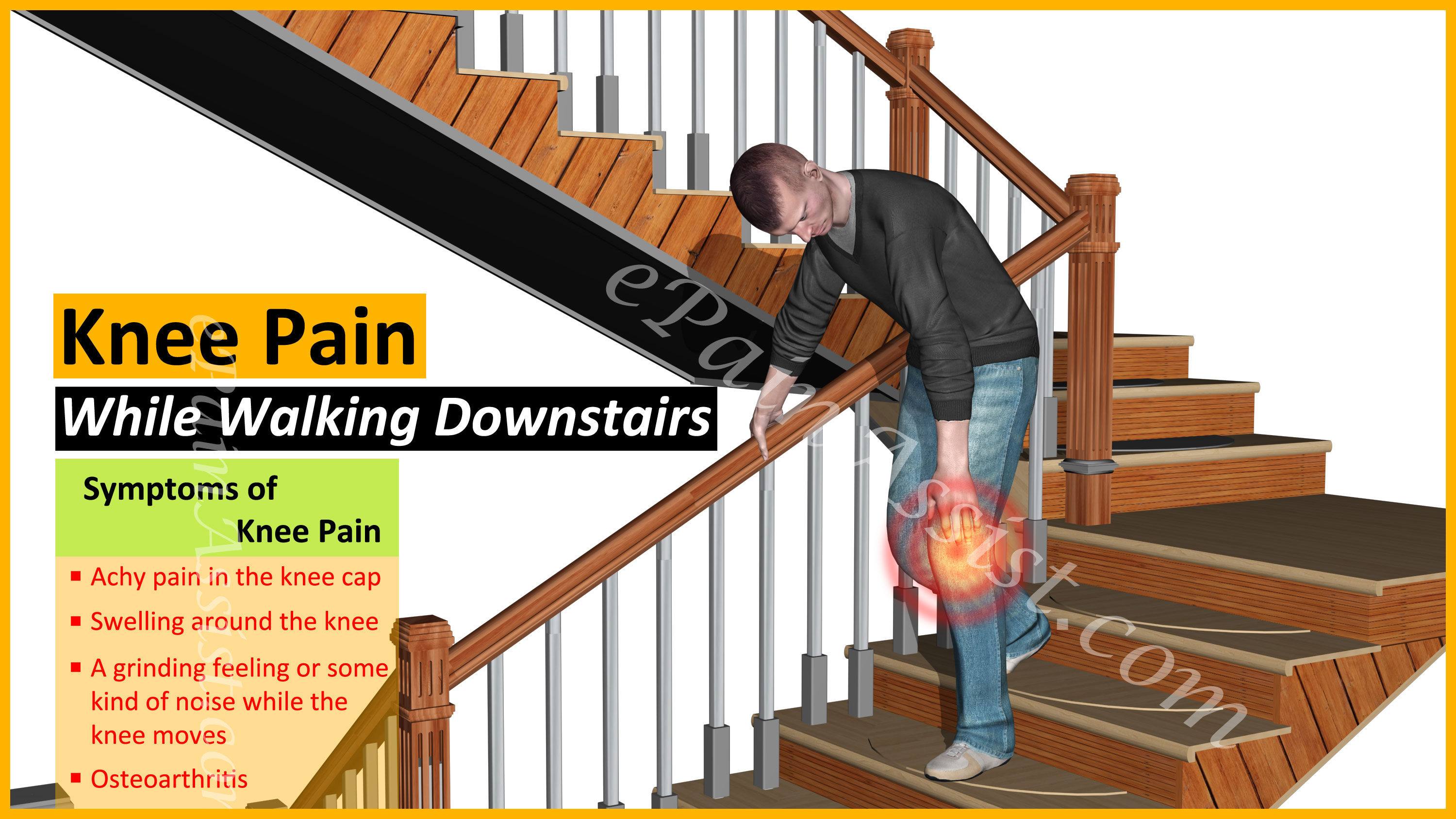 Knee Pain While Walking Downstairs