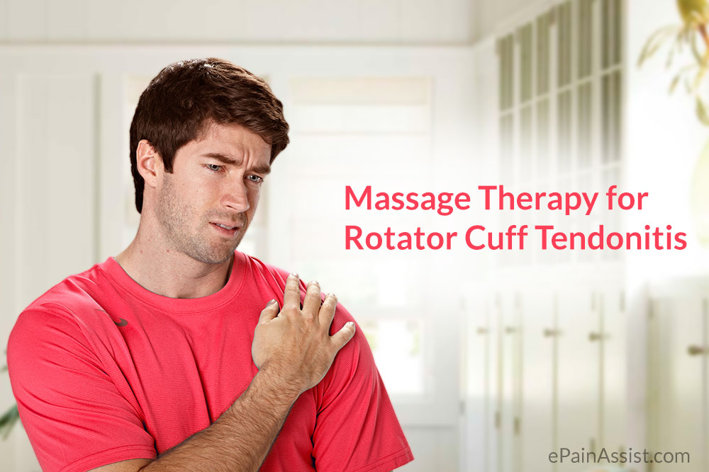 Massage Therapy for Rotator Cuff Tendonitis
