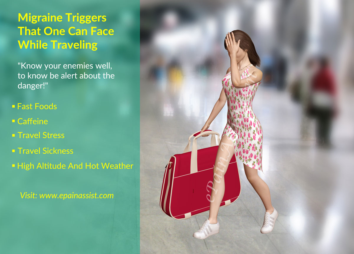 Migraine Triggers That One Can Face While Traveling