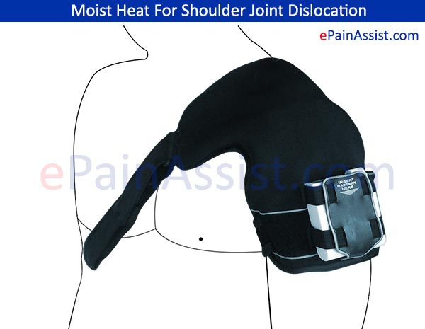 Moist Heat For Shoulder Joint Dislocation