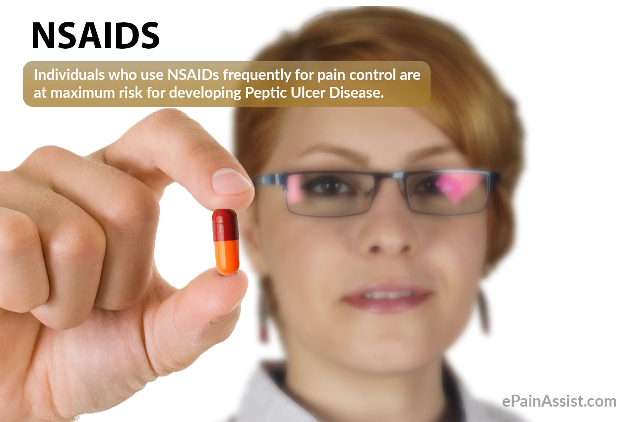 NSAIDS: A Cause For Peptic Ulcer Disease!