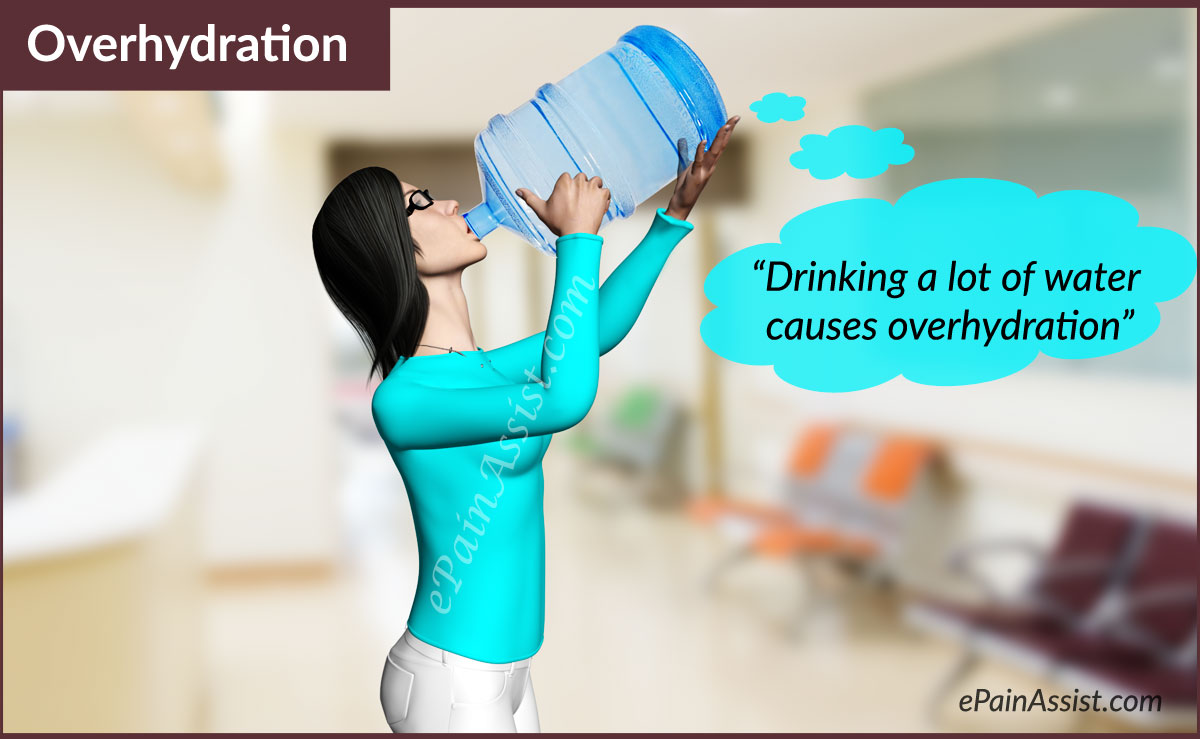 how to get rid of overhydration