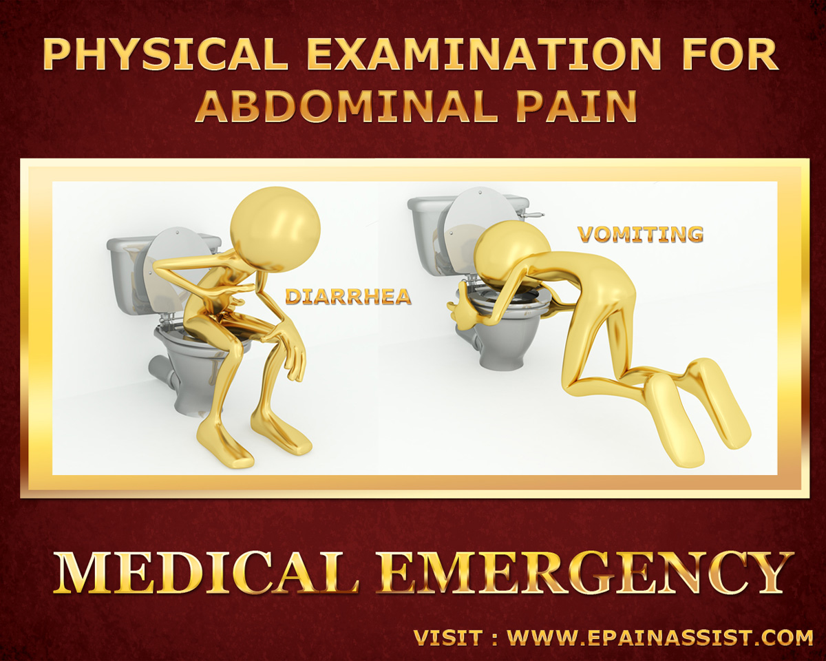 Physical Examination for Abdominal Pain or Stomach Ache: Medical Emergency
