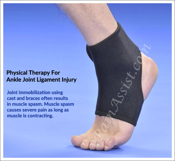 Physical Therapy (PT) For Ankle Joint Ligament Injury