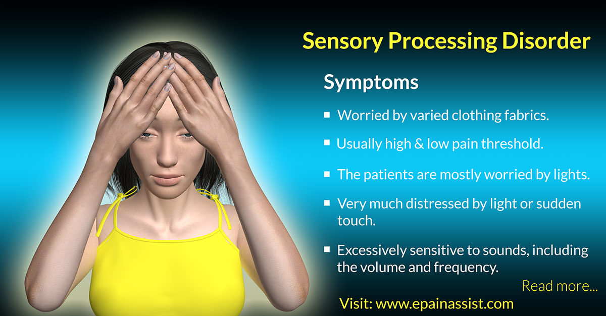 Symptoms of Sensory Processing Disorder