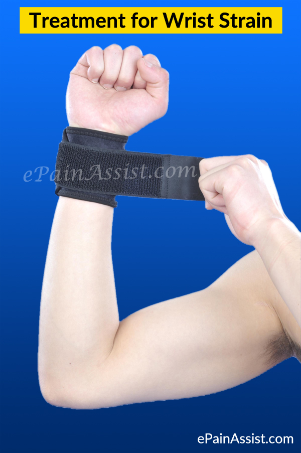 Treatment for Wrist Strain