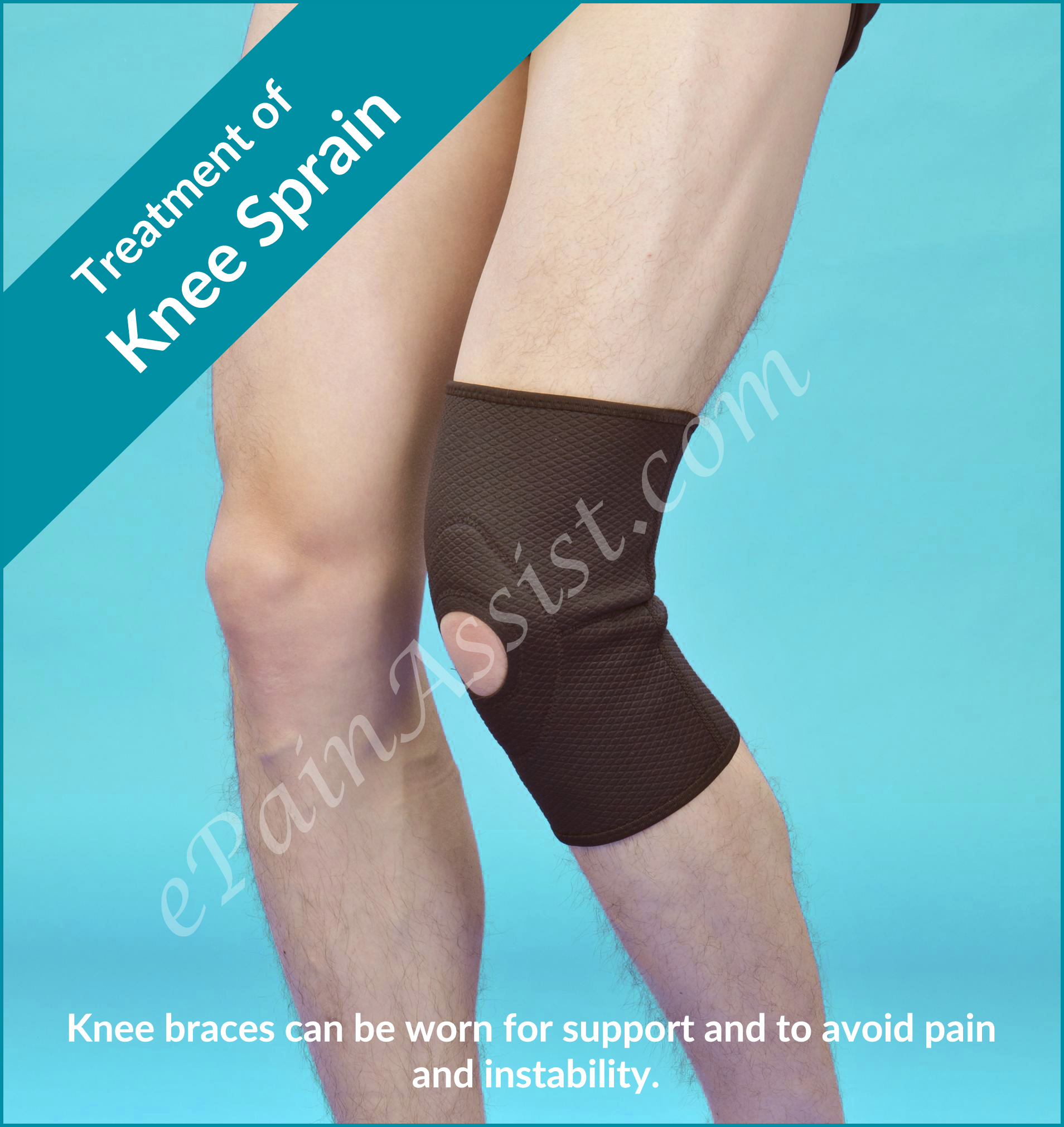 Knee Sprain|Treatment|Recovery Period|Braces|Alternative Therapy