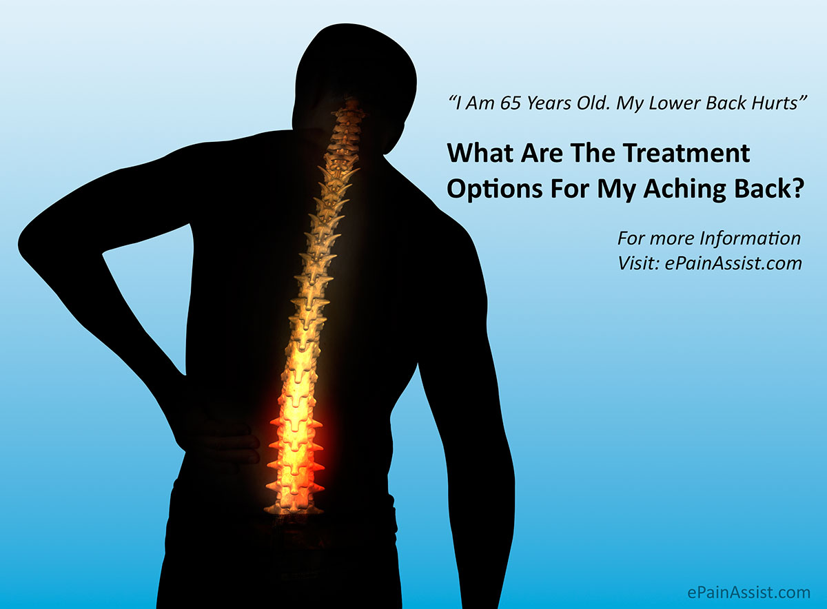 Treatment Options For Lower Back Pain in Older People