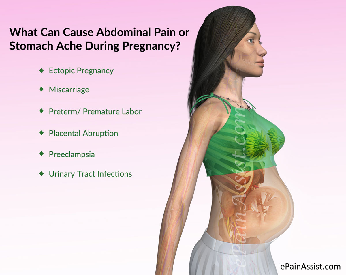What Can Cause Abdominal Pain During Pregnancy