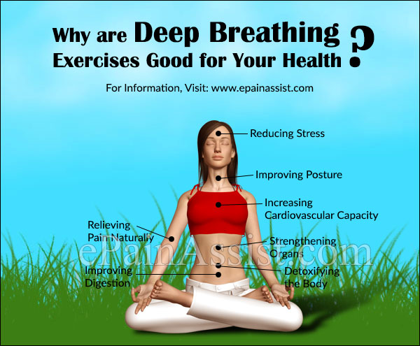 Why are Deep Breathing Exercises Good for Your Health?
