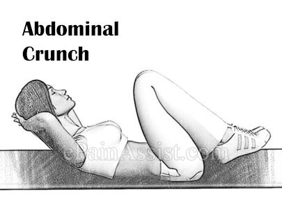 Abdominal Crunch Exercises for Lordosis