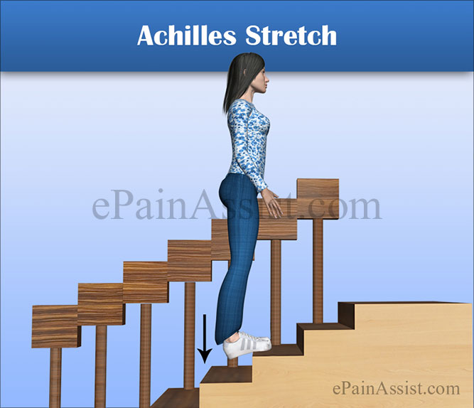 Achilles Stretch for Peroneal Tendon Subluxation