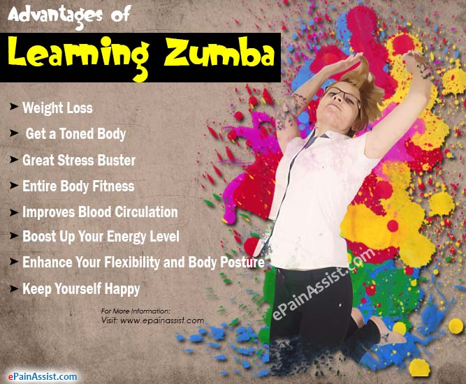 Advantages or Benefits of Learning Zumba