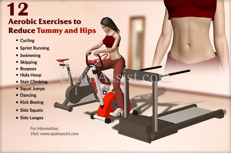 Aerobic Exercises To Reduce Tummy And Hips