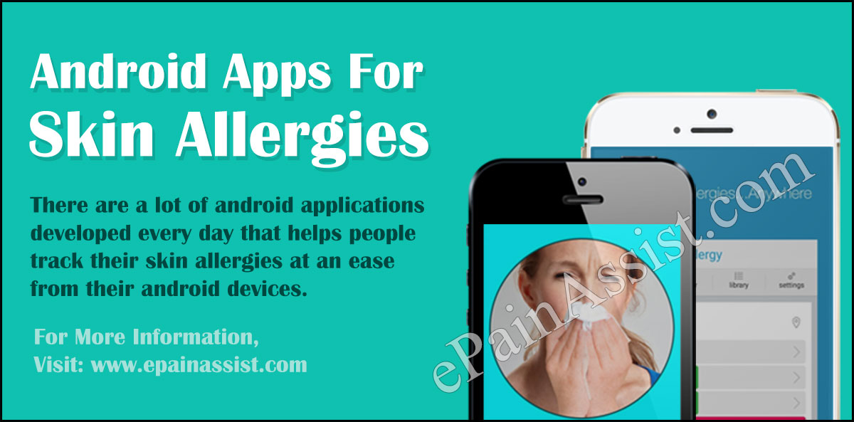 Android Apps For Skin Allergies