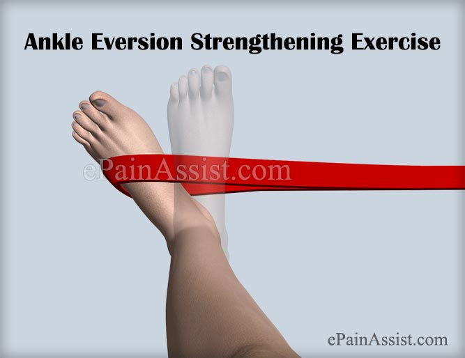 Ankle Eversion Strengthening Exercise to Help Recover From Footballer's Ankle Injury